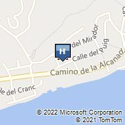 Villa Alcanada Map